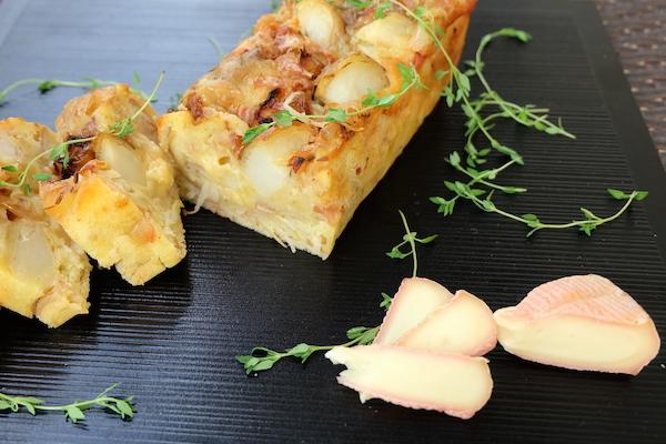 ウォッシュチーズ&ジャガイモに、クミンの風味|チーズが主役!のケーク・サレ③