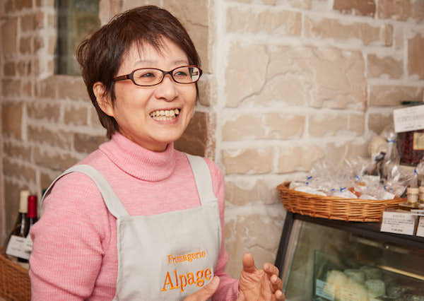 朗らかな笑顔とともに、美味しいチーズを神楽坂から。森 節子さん|アルパージュ