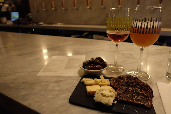 torst beer cheese plate