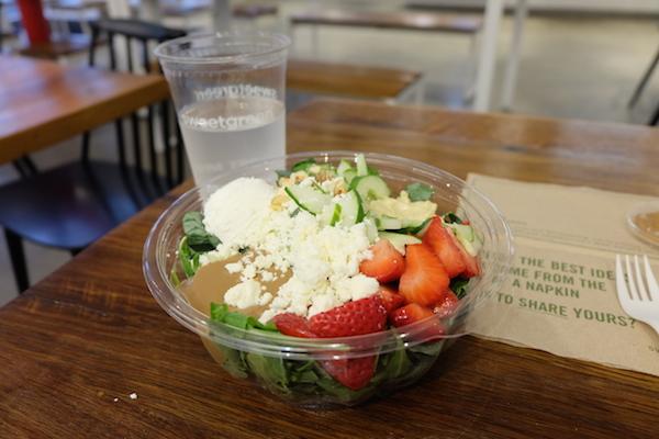salad strawberry fields
