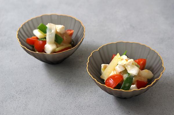 モッツァレラを和食に。決め手は、柚子香るオリーブオイルと味噌|簡単レシピ