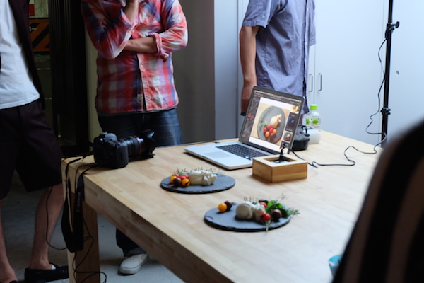 チーズ料理の写真ワークショップ