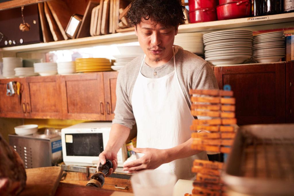 料理を通して、生産者の思いを繋いでいきたい。 祥瑞|恩海洋平さん