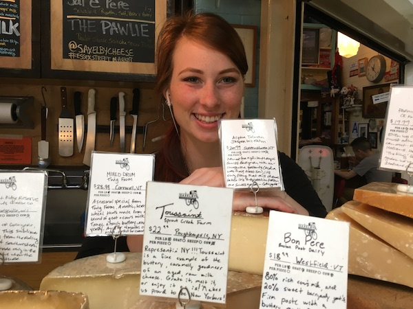 Saxelby Cheesemongers staff