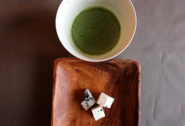 gorgonzola and tea