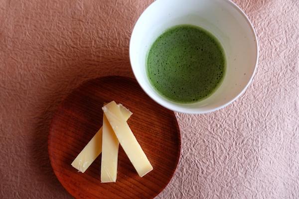 comte and tea
