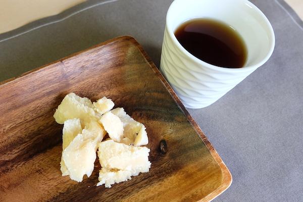 parmigiano reggiano and tea