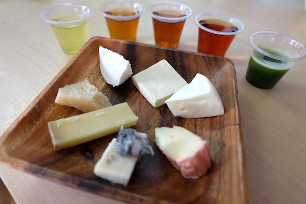 pairing of cheese and tea