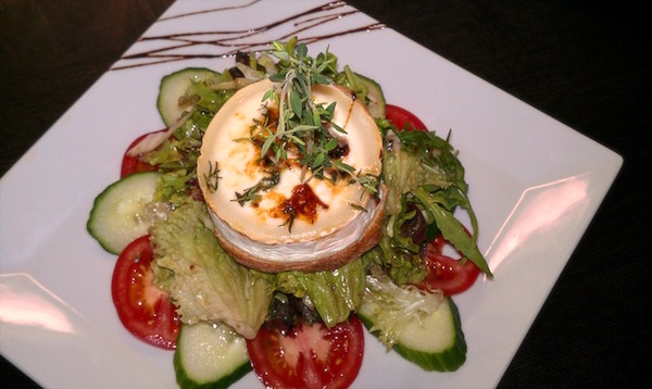 salad of chevre cheese