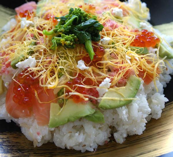 年末年始の集まりに。カッテージチーズ入りの洋風ちらし寿司を|お手軽レシピ