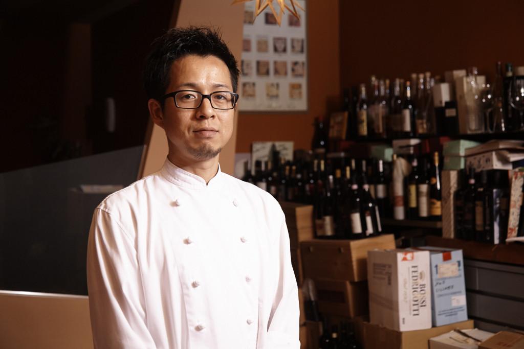 滋味深い料理のため、食材を選ぶ目は厳しく。 小西達也さん| VINO DELLA PACE
