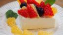 フルーツをのせるだけでチーズケーキ風に|母の日に作りたい!タイプ別3つのレシピ Vol.2