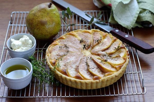 リコッタと洋梨の甘みがしっとり!かんたんタルトの作り方| 簡単レシピ