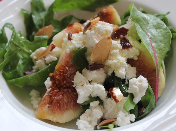 リコッタとイチヂクで作るおしゃれサラダ| 簡単レシピ