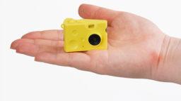「はい、チーズ!」可愛すぎる、超小型のデジタルトイカメラ